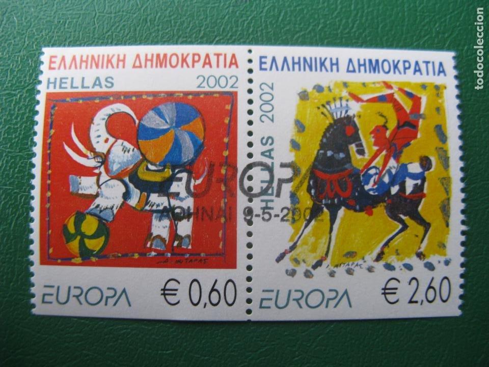 -GRECIA, 2002, EUROPA (Sellos - Extranjero - Europa - Grecia)