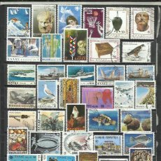 Sellos: G870B-LOTE SELLOS GRECIA SIN TASAR,SIN REPETIDOS,ESCASOS. -GREECE STAMPS LOT WITHOUT PRICING WITHOUT. Lote 254177060
