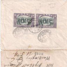 Sellos: CARTA DE GRECIA A WASHINTON DOS SELLOS YVERT Nº 346 GRECIA LORD BYRON 1924. Lote 257334810