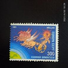 Sellos: GRECIA 300, EUROPA AÑO 1991.. Lote 262090175