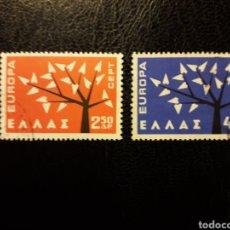 Sellos: GRECIA YVERT 774/5 SERIE COMPLETA USADA 1962 EUROPA CEPT PEDIDO MÍNIMO 3_. Lote 277204883