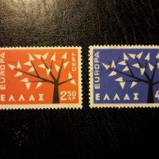 Sellos: GRECIA YVERT 774/5 SERIE COMPLETA USADA 1962. EUROPA CEPT PEDIDO MÍNIMO 3 €. Lote 277204893