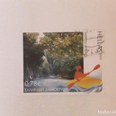 Timbres: AÑO 2012 GRECIA SELLO USADO. Lote 277696378