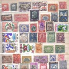 Sellos: LOTE DE 100 SELLOS DE GUATEMALA USADOS (TODOS DIFERENTES) . Lote 23029625