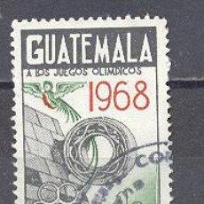 Sellos: GUATEMALA, USADO. Lote 25185061