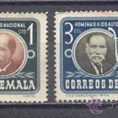 Sellos: GUATEMALA, USADOS. Lote 25185098