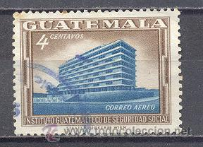 GUATEMALA , USADO (Sellos - Extranjero - América - Guatemala)