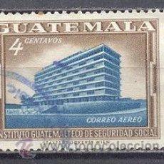 Sellos: GUATEMALA , USADO. Lote 27153019