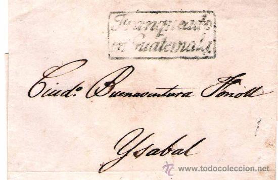 H. POSTAL. VIRREINATO DE ESPAÑA EN GUATEMALA (Sellos - Extranjero - América - Guatemala)