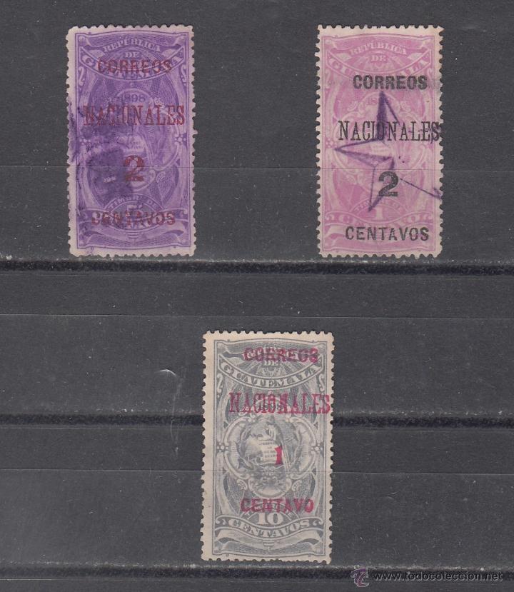 GUATEMALA 93/5 USADA, (Sellos - Extranjero - América - Guatemala)