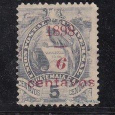 Sellos: GUATEMALA 84 USADA, . Lote 43686227