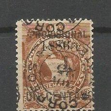 Sellos: GUATEMALA 1886YVERT NUM. 43 SERIE COMPLETA USADA. Lote 50546954