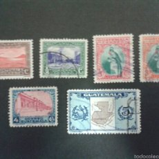 Sellos: SELLOS DE GUATEMALA. YVERT 273/78. SERIE COMPLETA USADA.. Lote 53263192