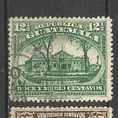 Sellos: GUATEMALA YVERT NUM. 199/200 SERIE COMPLETA USADA. Lote 57971174