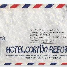 Sellos: GUATEMALA CORREO AÉREO 1976 HISTORIA POSTAL. SOBRE VOLADO DESDE GUATEMALA A COLOMBIA. Lote 67572993