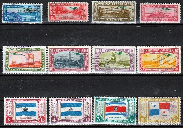 GUATEMALA .LOTE SELLOS ANTIGUOS. *MH (17-48 ) (Sellos - Extranjero - América - Guatemala)