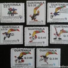 Sellos: GUATEMALA. YVERT 457/64. SERIE COMPLETA NUEVA SIN CHARNELA. DEPORTES. Lote 85474375