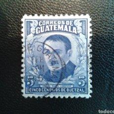 Sellos: GUATEMALA. YVERT 319. SERIE COMPLETA USADA.. Lote 85765300