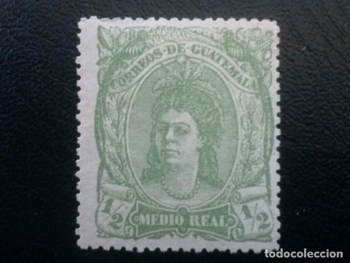GUATEMALA , YVERT Nº 11, 1878 (Sellos - Extranjero - América - Guatemala)