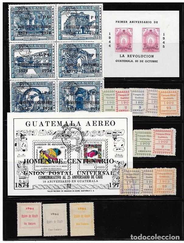 Sellos: GUATEMALA. LOTE DE SELLOS - Foto 2 - 94208800