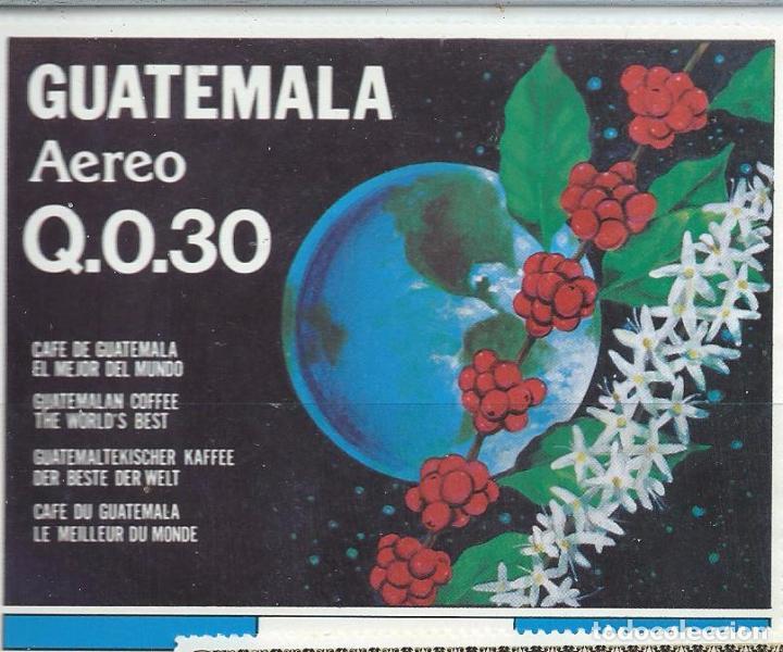 Sellos: Sellos aéreos nuevos de Guatemala de la serie: La Cosecha del Café 1870 - Foto 4 - 195457690