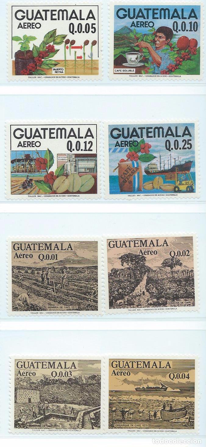 Sellos: Sellos aéreos nuevos de Guatemala de la serie: La Cosecha del Café 1870 - Foto 5 - 195457690