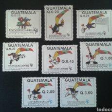 Sellos: GUATEMALA. YVERT 457/64. SERIE COMPLETA NUEVA SIN CHARNELA. DEPORTES.. Lote 113447804
