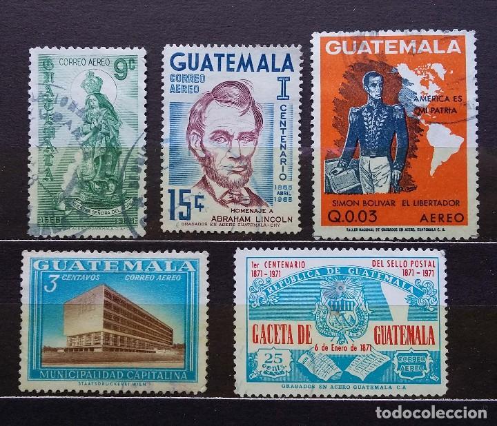 GUATEMALA - SELLOS USADOS (Sellos - Extranjero - América - Guatemala)