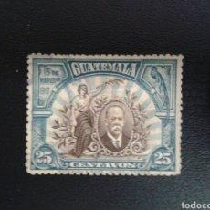 Sellos: GUATEMALA. YVERT 160. SERIE COMPLETA USADA.. Lote 117785274