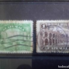 Sellos: GUATEMALA 1926, UPU, OBSERVATORIO Y PALACIO NACIONAL . Lote 135305954