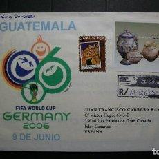Sellos: GUATEMALA-CARTA REGISTRADA CON SELLO Y&T 539+BL.35. Lote 141519518