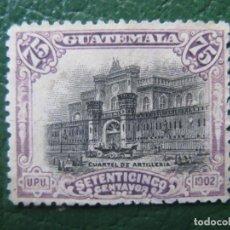 Sellos: GUATEMALA, 1902, YVERT 127. Lote 152161742