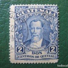 Sellos: GUATEMALA, 1929 J.R.BARRIOS, YVERT 233. Lote 152204742