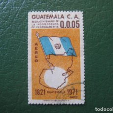 Sellos: GUATEMALA, 1972, YVERT 477 AEREO. Lote 152280470