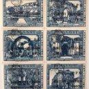 Sellos: HB NUEVA CLÁSICA CON 6 SELLOS DE GUATEMALA- PRO TURISMO (NEGRO). Lote 156173300