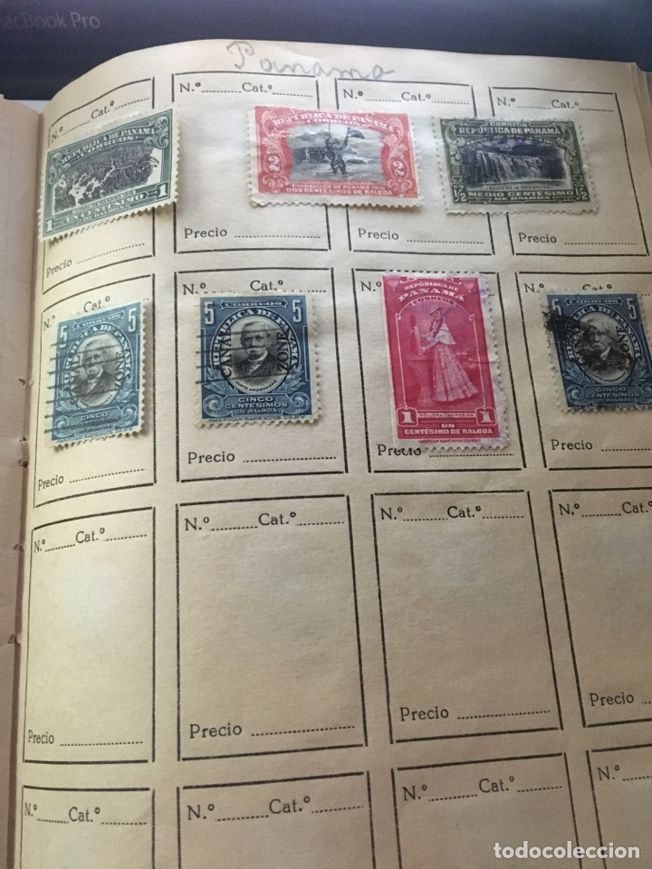 Sellos: Album sellos HAITÍ,VENEZUELA COSTA RICA NICARAGUA PANAMA - Foto 8 - 158272584