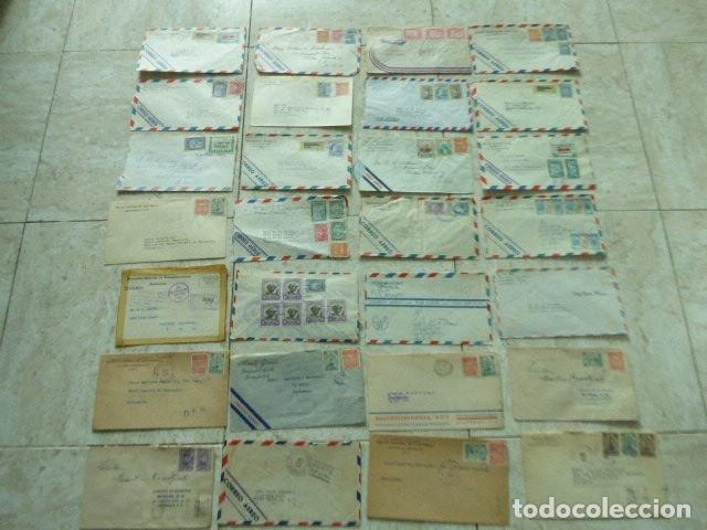 Sellos: LOTE DE 28 SOBRES CIRCULADOS. GUATEMALA - USA. AÑOS 40. LOS DE LA FOTO. COVER FLIGHT - Foto 2 - 174089283