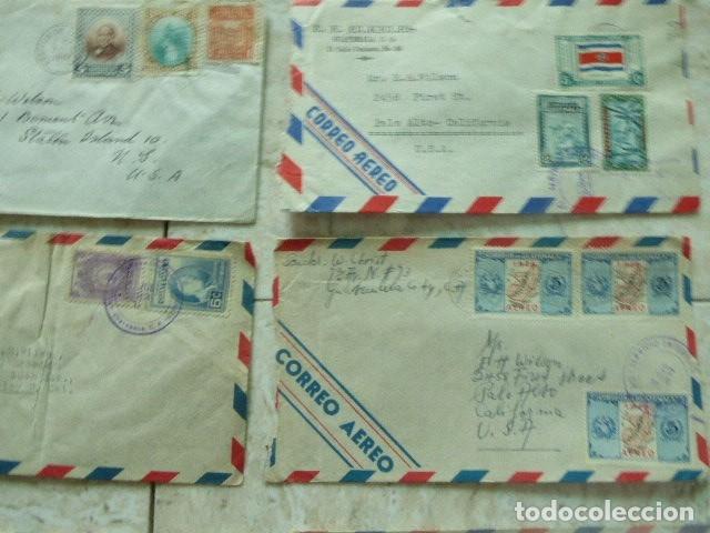Sellos: LOTE DE 28 SOBRES CIRCULADOS. GUATEMALA - USA. AÑOS 40. LOS DE LA FOTO. COVER FLIGHT - Foto 8 - 174089283