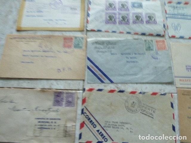 Sellos: LOTE DE 28 SOBRES CIRCULADOS. GUATEMALA - USA. AÑOS 40. LOS DE LA FOTO. COVER FLIGHT - Foto 9 - 174089283