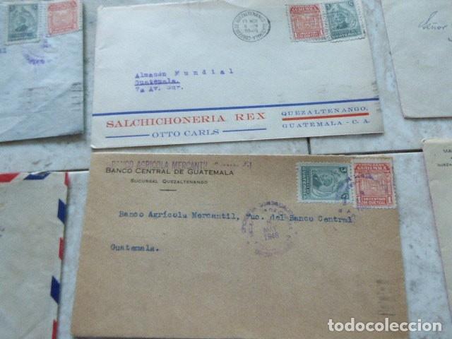 Sellos: LOTE DE 28 SOBRES CIRCULADOS. GUATEMALA - USA. AÑOS 40. LOS DE LA FOTO. COVER FLIGHT - Foto 10 - 174089283