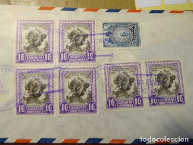 Sellos: LOTE DE 28 SOBRES CIRCULADOS. GUATEMALA - USA. AÑOS 40. LOS DE LA FOTO. COVER FLIGHT - Foto 11 - 174089283
