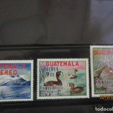 Sellos: GUATEMALA - 3 V. NUEVO. Lote 176889904