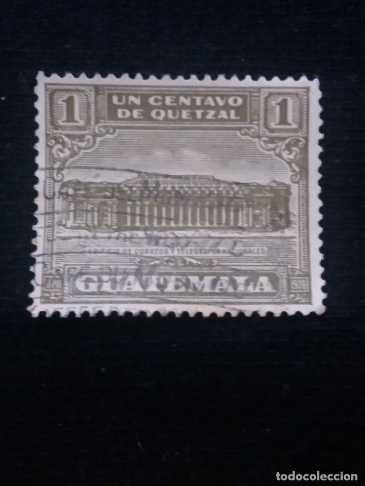 AEREO GUATEMALA, 1 CENTS, QUETZAL.1926. SIN USAR (Sellos - Extranjero - América - Guatemala)