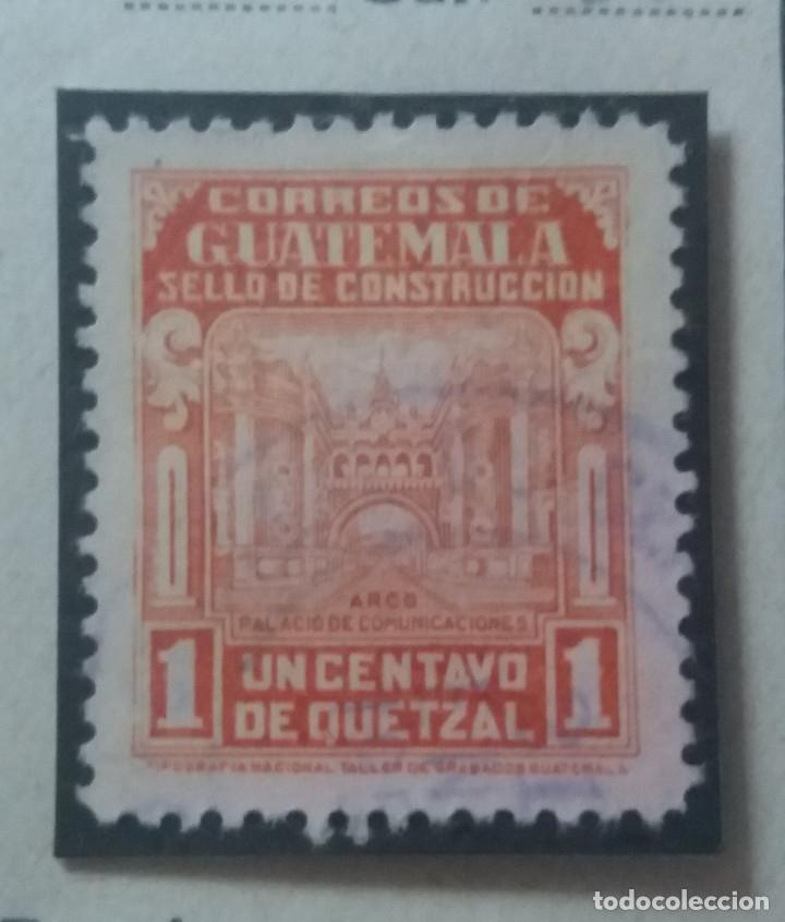 AEREO GUATEMALA, 1 CENTS, QUETZAL.1946. SIN USAR (Sellos - Extranjero - América - Guatemala)