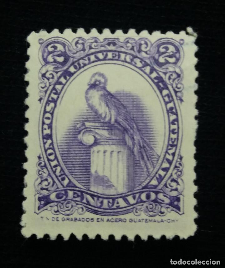 GUATEMALA, 2 CENTS, GUACAMAYO,1964. SIN USAR (Sellos - Extranjero - América - Guatemala)