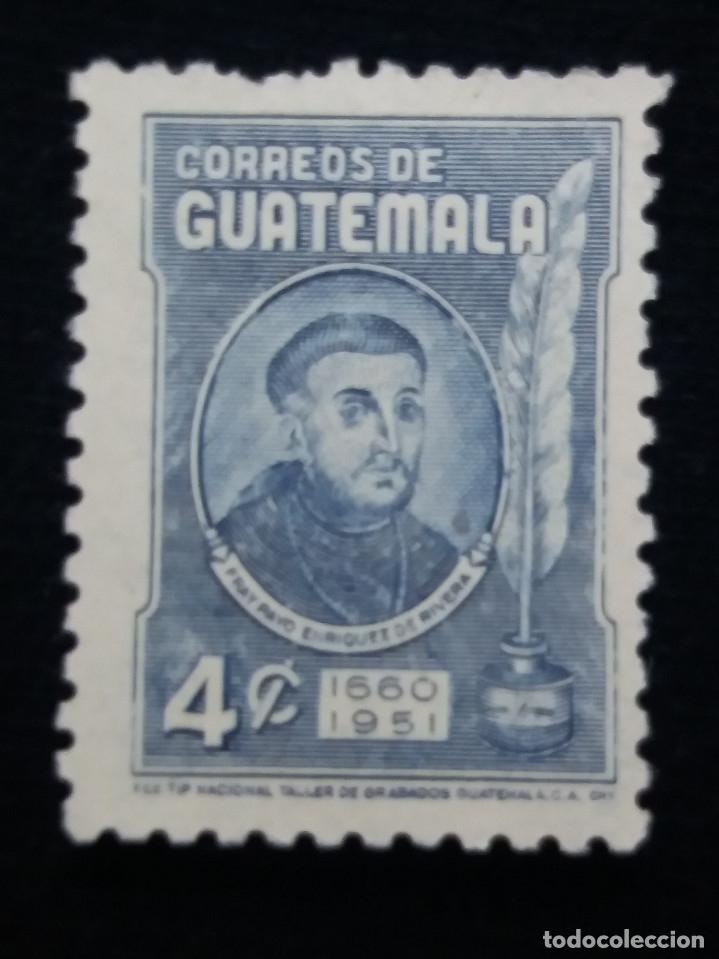 GUATEMALA, 4 CENTS, FRAY, 1660-1951. SIN USAR, (Sellos - Extranjero - América - Guatemala)