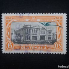 Sellos: GUATEMALA, 6 CENTS, PALACIO DE JUSTICIA, 1950. SIN USAR. Lote 180274535