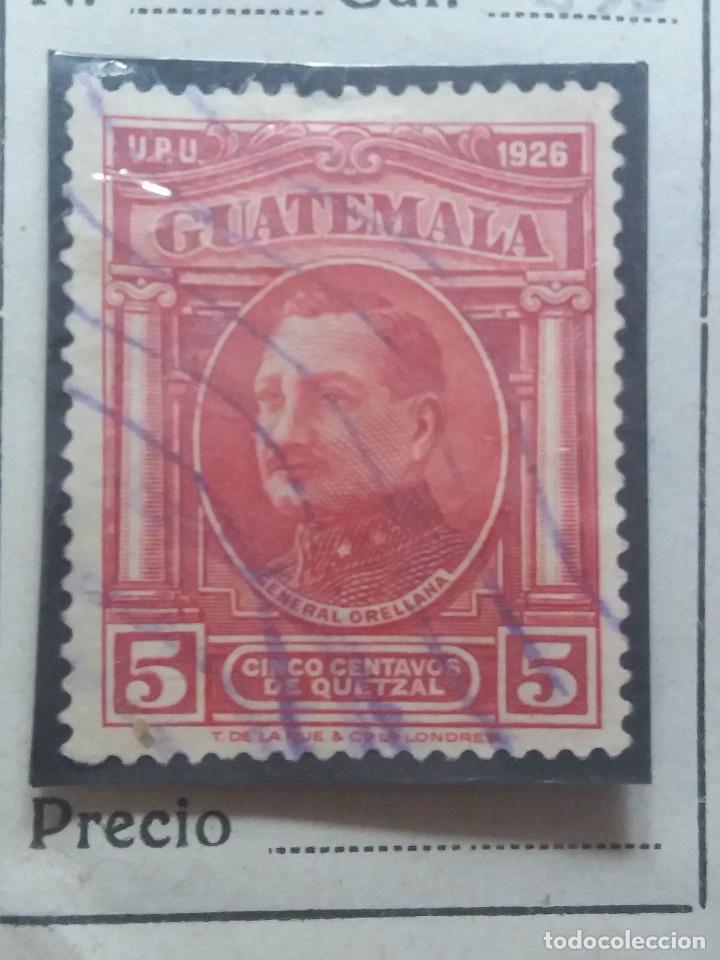 GUATEMALA, 5 CENTAVOS DE QUETZAL, G, ORELLANA, 1929. SIN USAR (Sellos - Extranjero - América - Guatemala)