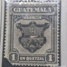 Sellos: GUATEMALA, 1 CENTAVOS DE QUETZAL, U.P.U., 1926.. Lote 180406995