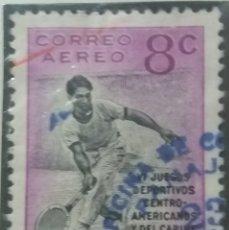 Sellos: GUATEMALA, 8 CENTAVOS, AEREO, VI JUEGOS.1926.. Lote 180407393